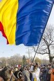 La festa nazionale della Romania Fotografie Stock Libere da Diritti