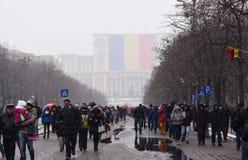 La festa nazionale della Romania Immagine Stock Libera da Diritti