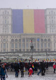 La festa nazionale della Romania Immagine Stock