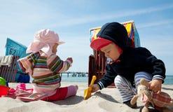 La festa vacations bambini Immagini Stock Libere da Diritti