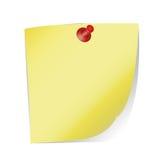 La feuille de papier avec Photo libre de droits