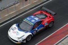 La FIA GT del Ferrari 458 Pozzo-si arresta immagine stock