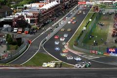La FIA SPORTSCAR (chemin de Spa1000km) Image libre de droits