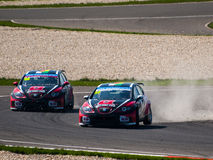 LA FIA WTCC Photos stock