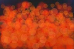 La fiamma calda offusca il fondo del bokeh Fotografie Stock