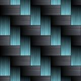 La fibre de carbone wowen la texture Photos stock