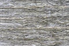 La fibre de verre minérale est présentée dans plusieurs couches Fond de fibre de verre images stock