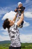 La fierté de la mère Photo libre de droits