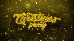 La fiesta de Navidad desea la tarjeta de felicitaciones, invitación, fuego artificial de la celebración