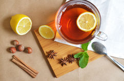 La fiesta del té Imagenes de archivo
