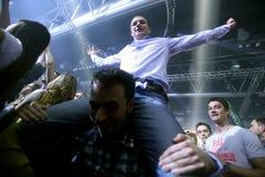 La Fiesta Stage by Sensation party Stock Photo