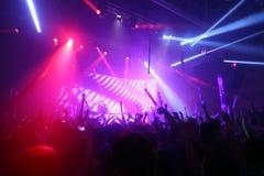 La Fiesta Stage by Sensation party Stock Image