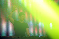 La Fiesta Stage by Sensation party Stock Photography
