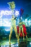 La Fiesta Stage by Sensation party Royalty Free Stock Image