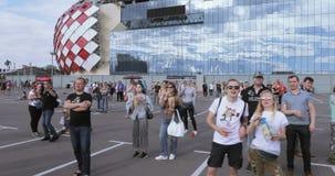 La FIFA évente le festival de ` au stade de Spartak clips vidéos