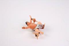 La figura de la diversión del luchador del sumo Foto de archivo libre de regalías