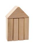 La figura de madera Fotografía de archivo