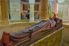 La figura del Dormition de la Virgen María Foto de archivo libre de regalías