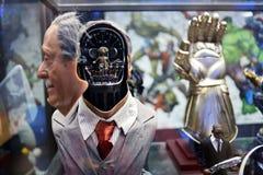 La figura delicata 1:1 di modello di Rosenberg RIPORTA IN SCALA IL BUSTO su esposizione fotografie stock
