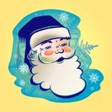 La figura di Santa Claus illustrazione di stock