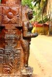 La figura en el templo hindú Swami Temple de Janardana Templo de Varkala Fotografía de archivo