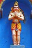 La figura en el templo hindú Swami Temple de Janardana Templo de Varkala Imagenes de archivo