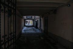La figura en la calle Imágenes de archivo libres de regalías