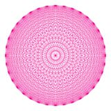 La figura geom?trica de 36 ?ngulos, todos los puntos interconect? libre illustration