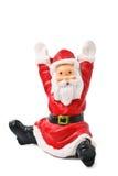 la figurine de clause a isolé Santa photos stock
