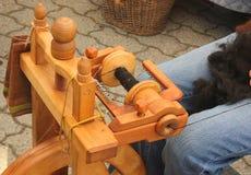La filatura spinge dentro la via Fotografia Stock Libera da Diritti