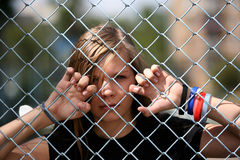 La fille - adolescente Photo libre de droits