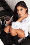 Vin, amour et d'autres conséquences Image stock