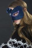 La fille dans un masque Photos libres de droits