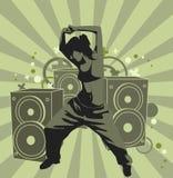 La fille de danse Photo libre de droits