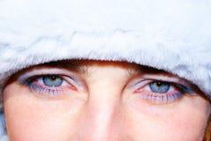La fille de l'hiver Photo libre de droits