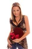 La fille de Valentine Image stock