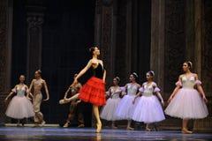 La fille espagnole de style le deuxième royaume de sucrerie de champ d'acte deuxièmes - le casse-noix de ballet Photographie stock