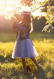 La fille féerique la plus mignonne photographie stock