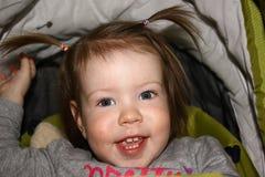 la fille la plus heureuse photographie stock libre de droits