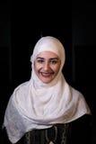 La fille musulmane prient dans la mosquée Photo libre de droits
