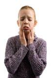 La fille pleure photographie stock libre de droits