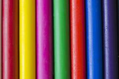 Ensemble de crayons images libres de droits