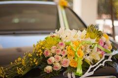 La fin de cérémonie de mariage se lève Images libres de droits