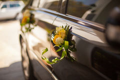 La fin de cérémonie de mariage se lève Images stock