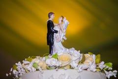 La fin de cérémonie de mariage se lève Photographie stock