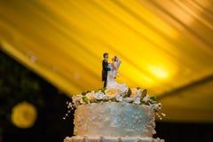 La fin de cérémonie de mariage se lève Photo stock