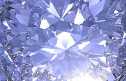 La fin réaliste de texture de diamant, 3D rendent Photos stock