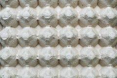 La fine alta e dettagliata di carta eggs il backgr di struttura del contenitore di contenitore Immagini Stock Libere da Diritti