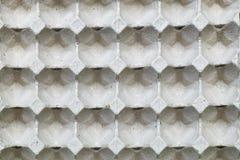 La fine alta e dettagliata di carta eggs il backgr di struttura del contenitore di contenitore Fotografia Stock