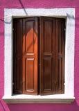 La finestra Immagine Stock
